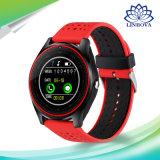 Slim Horloge V9 met de Kaart Smartwatch van het Polshorloge SIM van de Uren van de Klok van de Sport van de Gezondheid van Bluetooth van de Camera