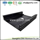 6063 de extrusión de aluminio de alta calidad para el disipador de calor del radiador de equipos de audio para coche
