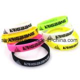Braccialetto promozionale su ordinazione poco costoso del Wristband del silicone