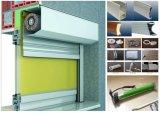 Rollen herauf Typen Sicherheits-elektrische Geschäfts-Aluminiumfenster-Walzen-Blendenverschlüsse