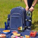 カスタムワインビール6personのためのピクニックによって絶縁されるお弁当箱のクーラーの袋かバックパック