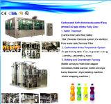 3 en 1 máquina de embotellado aireada/gaseosa/efervescente