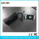 torcia elettrica incorporata dei kit domestici solari 3.5W, con indicatore luminoso solare & cavo del USB & comitato solare