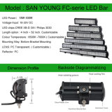 A barra de luz LED CREE 50 polegada 288W 4X4 Barra de luz LED OFF Road