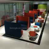 Un mobilier moderne Loisirs Réunion de haut Booth pour utilisation de bureau