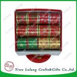 Печать Lulang золотом ткани ленты Напечатано в случайном порядке подарочной упаковки