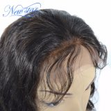 赤ん坊の毛の人間の毛髪の完全なレースのかつらが付いているヨーロッパボディ波
