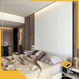 Зерно из клена дизайн печати меламина Impregnatde декоративной бумаги для мебели