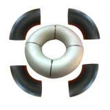 La norma ASTM B16.9 Un234 Wpb 90 grados 1.5D Codo de acero al carbono