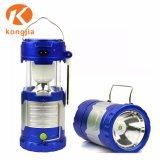 2018 vender LED quente leve e portátil fácil LED Dobrável Camping Lantern para caminhadas