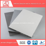 Curtain Walls/Facade/Ceiling/CleanroomのためのPVDF Lightweight Aluminum Honeycomb Panels
