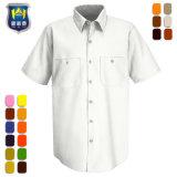 Het industriële Overhemd van de Prestaties van Technologie van het Werk Korte Koker Geventileerde