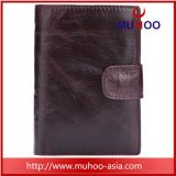 Портмоне из натуральной кожи держателя карты органайзера мужчин кошелек в карман для мелочи