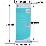 Soporte de pantalla de desplazamiento lateral doble de Banner Roll up Stand
