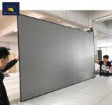 """120"""" Zero estrutura fixa de borda da tela do projetor com tecido de luz ambiente"""