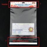 Transparente selbstklebende verpackenbeutel des Karten-Vorsatz-BOPP