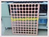 Orificio redondo del panel de papel del panal que hace la maquinaria