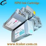 Замените картридж с черными чернилами HP83 для HP5000 и HP5500 плоттер УФ-печать