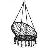 Chaise hamac Macrame Swing pour l'intérieur ou extérieur