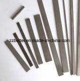 Faixa de carboneto cimentado de tungsténio para corte