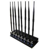 8アンテナ強力なGPS/WiFi/VHF/UHFシグナルの妨害機