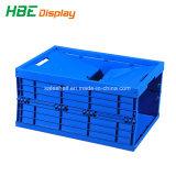 Zusammenklappbarer Speicherrahmen-Plastikkasten für Transport und Speicherung