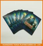 Eco-Friendly бумажная фабрика Yh69 карточек игры двухшпиндельная