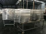OEM 3mm Raad van de Muur van het Comité van het Aluminium van de Dikte de Buiten