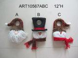 Natal Giftbag-3assorted da rena do boneco de neve de Santa