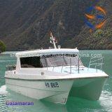 10.8m de Catamaran van het Lichaam van de Boot FRP die in China wordt gemaakt