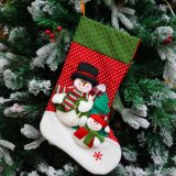 Sokken van Kerstmis van de Douane van de Decoratie van het Stuk speelgoed van het Jonge geitje van de Prijs van de fabriek de Bulk