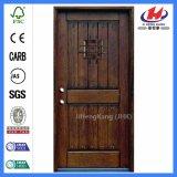 Puerta de madera de madera de la ingeniería del acordión de la alta calidad