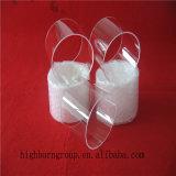 Bride en verre de quartz d'espace libre de grande pureté