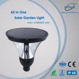 Литой алюминиевый корпус 12Вт Светодиодные лампы в саду солнечной энергии для установки вне помещений