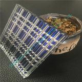 Saphir-blaue Zeile lamelliertes Glas verwendet für Gebäude