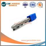 4*16*4*L100*HRC55 carboneto de alumínio 3 Flute Endmills plana