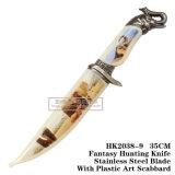 As facas de caça de fantasia Camping Faca Faca de sobrevivência HK2038-9 táctico