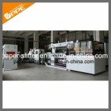 Máquina rebobinadora cortadora longitudinal automático