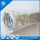 Acoustic Fiberglass Insulation Flexible Duct with Aluminum Foil
