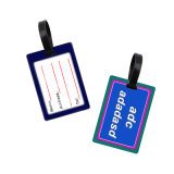 Heiße verkaufenförderung-Geschenke kundenspezifische Belüftung-Gepäck-Marke mit kundenspezifischer Firmenzeichen-Beutel-Marke