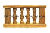 Traliewerk en de Baluster van het Graniet van de Balustrade van de Steen van Handcarved het Natuurlijke Marmeren voor Balkon