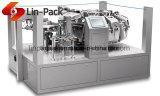Linpack Vácuo rotativo automático da máquina de Embalagem Alimentar Senhor8-200zk