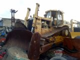 Utilisé au Japon d'origine la machinerie de construction Grand Tracteur CAT D8n Crawler bulldozer pour la vente