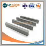 Tiras de faca de carboneto de tungstênio para estacas de madeira