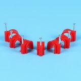 Tamaño completo de alta calidad Precios atractivos dos abrazaderas de cable de alambre redondo, Clip C