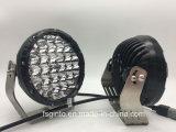 Forma redonda de 7pulgadas Offroad LED de luz de trabajo de Conducción GT1015-128128W (W)