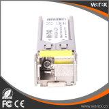 BiDi compatível SFP 1550nm-TX/1310nm-RX 20km de módulo de fibra
