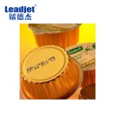Impresora de la fecha de vencimiento del producto de la escritura de la etiqueta de la inyección de tinta del color de la industria alimentaria de Leadjet V98