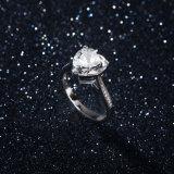 형식 결혼 반지 925 순은 다이아몬드 반지 금관 악기 형식 보석