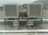 Werkstatt-Lager-Kühlsystem-an der Wand befestigte Verdampfungskühlvorrichtung-Luft-Kühlvorrichtung